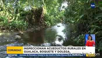 Inspeccionan funcionamiento de acueductos rurales en la provincia de Chiriquí - TVN Noticias