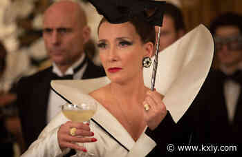 Dame Emma Thompson's Cruella Baroness look inspired by Dame Joan Collins - KXLY Spokane