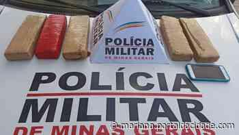 Prisão Polícia Militar prende traficante que trazia drogas de BH para Ouro Preto 05/06/2021 - ® Portal da Cidade | Mariana