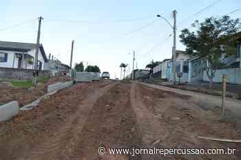 Nova Hartz promove pavimentação comunitária na Rua das Camélias - Jornal Repercussão