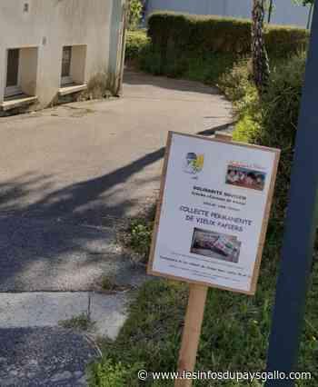 La Gacilly. Un nouveau local pour la collecte de bouchons et de vieux papiers - Les Infos du Pays Gallo