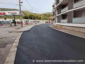 Port-Vendres : réfection de la voirie de l'avenue Marius Demonte - La Semaine du Roussillon