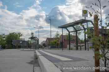 Busbahnhof: Nur die Schilder fehlen noch - Westfalen-Blatt