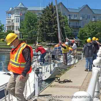 Road, parking lot closures coming to Cobourg due to marina boat lift-in operations - ThePeterboroughExaminer.com