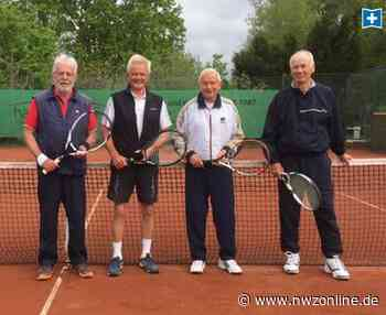 Tennis-Senioren weiter am Ball: Quartett bringt 323 Jahre Erfahrung ins Spiel - Nordwest-Zeitung