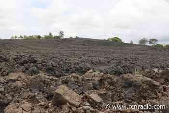Servicio Geológico inspeccionó volcán que expulsó material en Necoclí, Antioquia - RCN Radio