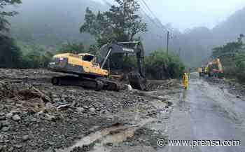 Carretera Volcán - Río Sereno permanecerá cerrada por trabajos de estudio, diseño y construcción - La Prensa Panamá