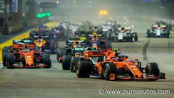 Formula 1: Suspenden el Gran Premio de Singapur - Puros Autos