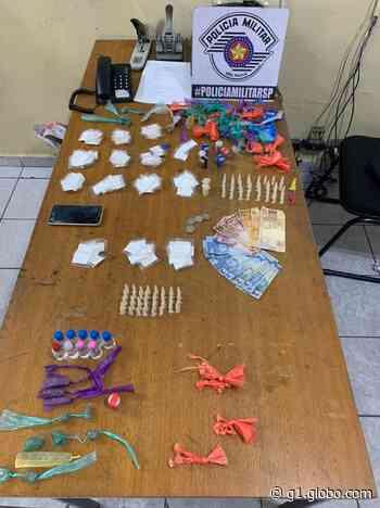 Suspeito de traficar drogas perto de escola é preso em Suzano, diz polícia - G1
