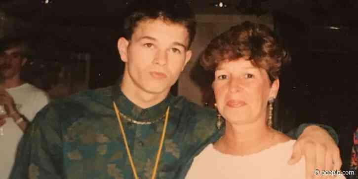 Mark Wahlberg Shares Marky Mark Era Throwback with Late Mother Alma for His 50th Birthday - PEOPLE