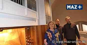 Zum Jahr der Orgel: Pfeifen in der Nikolaikirche in Kremmen sind wieder sauber - Märkische Allgemeine Zeitung