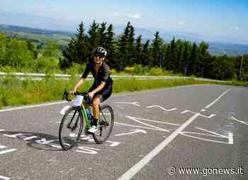 Everesting con Fanny Malatesti, Castelfiorentino-Montaione per 23 volte - gonews