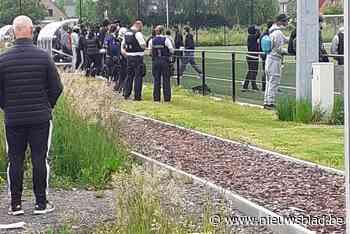 Incident met voetbalsupporters op Sportpark