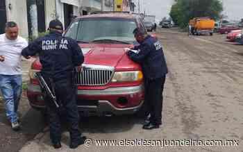 Persecución policiaca en la 57 termina en Loma Linda - El Sol de San Juan del Río