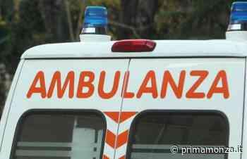 Soccorsi sul posto Incidente auto moto a Giussano: paura per un 48enne - Prima Monza