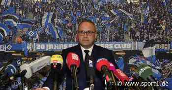 Hamburger SV: HSV-Finanzvorstand Frank Wettstein vor dem Aus? - SPORT1