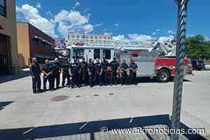 Donan camión aéreo a bomberos de Nuevo Casas Grandes - Akro Noticias