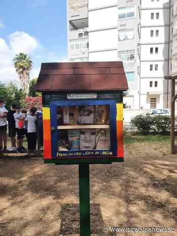 """A Floridia la prima """"Little free library"""" della provincia aretusea - Siracusa News"""