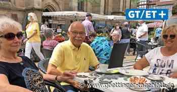 Gastronomie und Wochenmarkt in Duderstadt: Atmosphäre statt Störfaktor - Göttinger Tageblatt