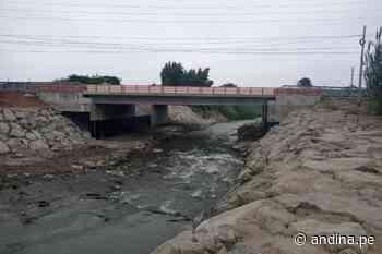 Reconstrucción: nuevo puente Fortaleza mejorará la transitabilidad en Barranca - Agencia Andina