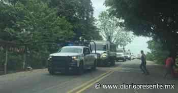 Convoy de Guardia Nacional arriba a Teapa - Diario Presente