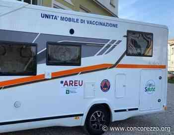 il vaccino arriva a casa con il camper Areu - Concorezzo.org