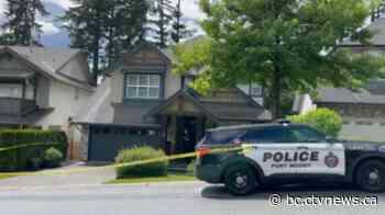 Port Moody home of Trina Hunt behind police tape Saturday - CTV News Atlantic