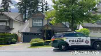 Trina Hunt's Port Moody home behind police tape Saturday - CTV News Vancouver