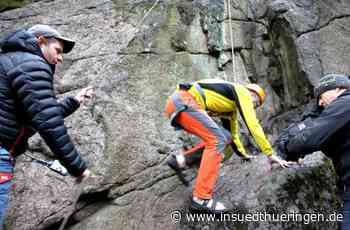 Tourismus - Neues Klettergebiet in der Inselbergregion - inSüdthüringen.de