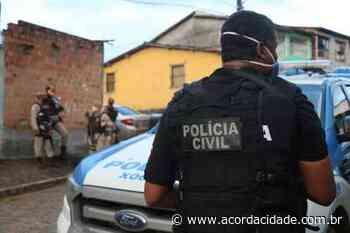 Preso homem que sequestrou, prendeu e agrediu ex-namorada em Capela do Alto Alegre - Acorda Cidade