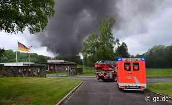 Feuer in Rheinbach: Brand im Munitionslager - ga.de - ga.de