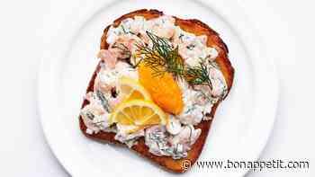 Toast Skagen (Swedish Shrimp Toast)