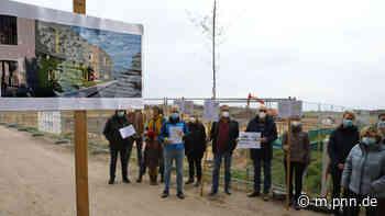 Protest gegen Großkita im Stahnsdorf - Potsdamer Neueste Nachrichten