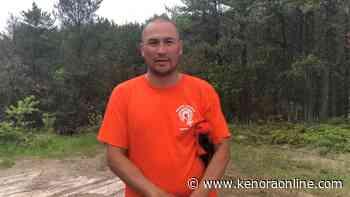 Video: Wabauskang member walking in honour of 215 - KenoraOnline.com
