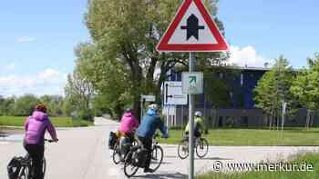 Gefahrenstelle: Beliebte Radlstrecke soll verlegt werden - Merkur Online
