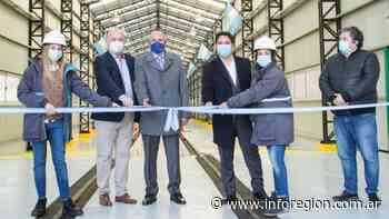 Inauguraron nueva nave en los talleres ferroviarios de Remedios de Escalada - InfoRegión
