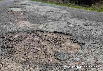 Demandan que se repare la vía Tula-Xochitlán - Criterio Hidalgo