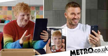 Ed Sheeran joins David Beckham to announce his new single's first play - Metro.co.uk