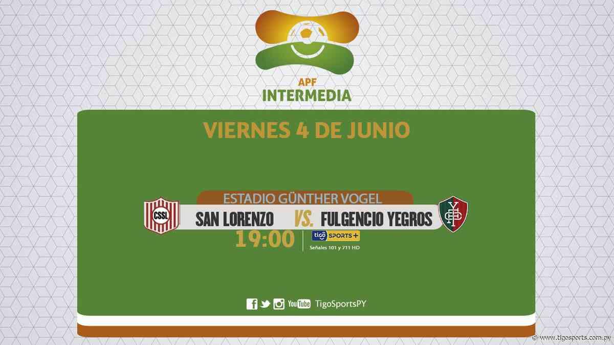 San Lorenzo y Fulgencio Yegros abren la undécima de la Intermedia - Tigo Sports