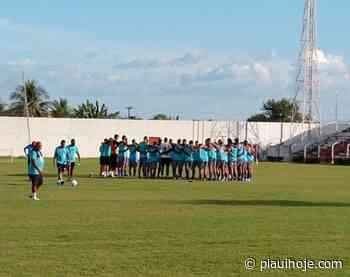 Time do 4 de Julho de Piripiri embarca para o Maranhão e inicia caminho para série D - Piauí Hoje