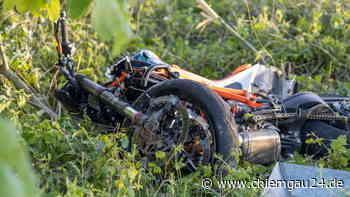 Trostberg/Tacherting: schwerer unfall auf der st2091 am 1. Juni motorradfahrer schwer verletzt - chiemgau24.de