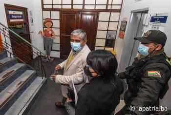 """""""Acoso político"""" ocasiona una distracción en Arias, en su la lucha contra el Covid-19 - Periódico La Patria (Oruro - Bolivia)"""