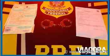 Acusado de lesão corporal é preso pela PRF na cidade de Piripiri - Viagora