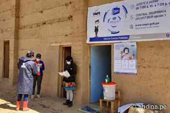 Huánuco: más de 120000 electores votarán en las provincias de Leoncio Prado y Marañón - Agencia Andina