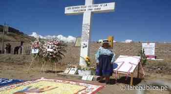 Huánuco: Fiscalía entrega a familias cuerpos de desaparecidos en periodo de conflicto armado - LaRepública.pe