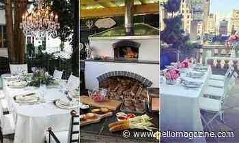 Dreamy celeb outdoor kitchen & dining setups: David Beckham, Catherine Zeta-Jones & more - HELLO!