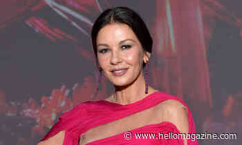 Catherine Zeta-Jones looks gorgeous in eye-catching pink outfit – sparks huge reaction - HELLO!