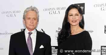 Catherine Zeta-Jones touches on bond with husband Michael Douglas - Wonderwall