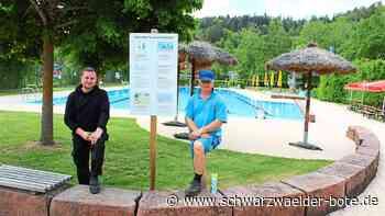 Freibaderöffnung in Altensteig - Jeweils 125 Besucher dürfen gleichzeitig baden - Schwarzwälder Bote