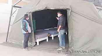Arequipa: En Orcopampa instalan centros de aislamiento para pacientes covid - Los Andes Perú
